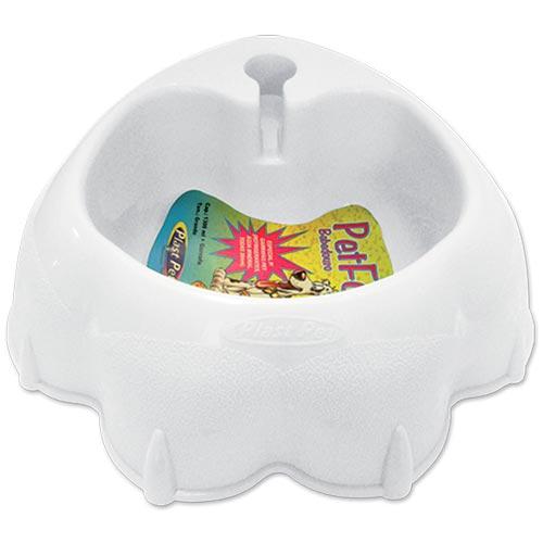 Bebedouro Automático Plastpet Pet Fox - Branco