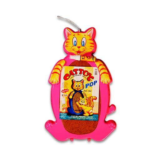Brinquedo Arranhador Plastpet Cattoy Pop - Rosa