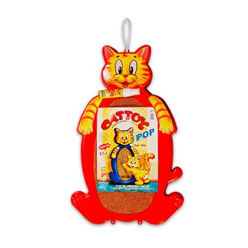 Brinquedo Arranhador Plastpet Cattoy Pop - Vermelho
