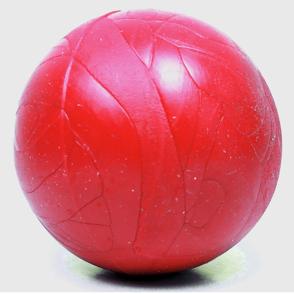 Brinquedo Furacão Pet Bola Maciça - Vermelho