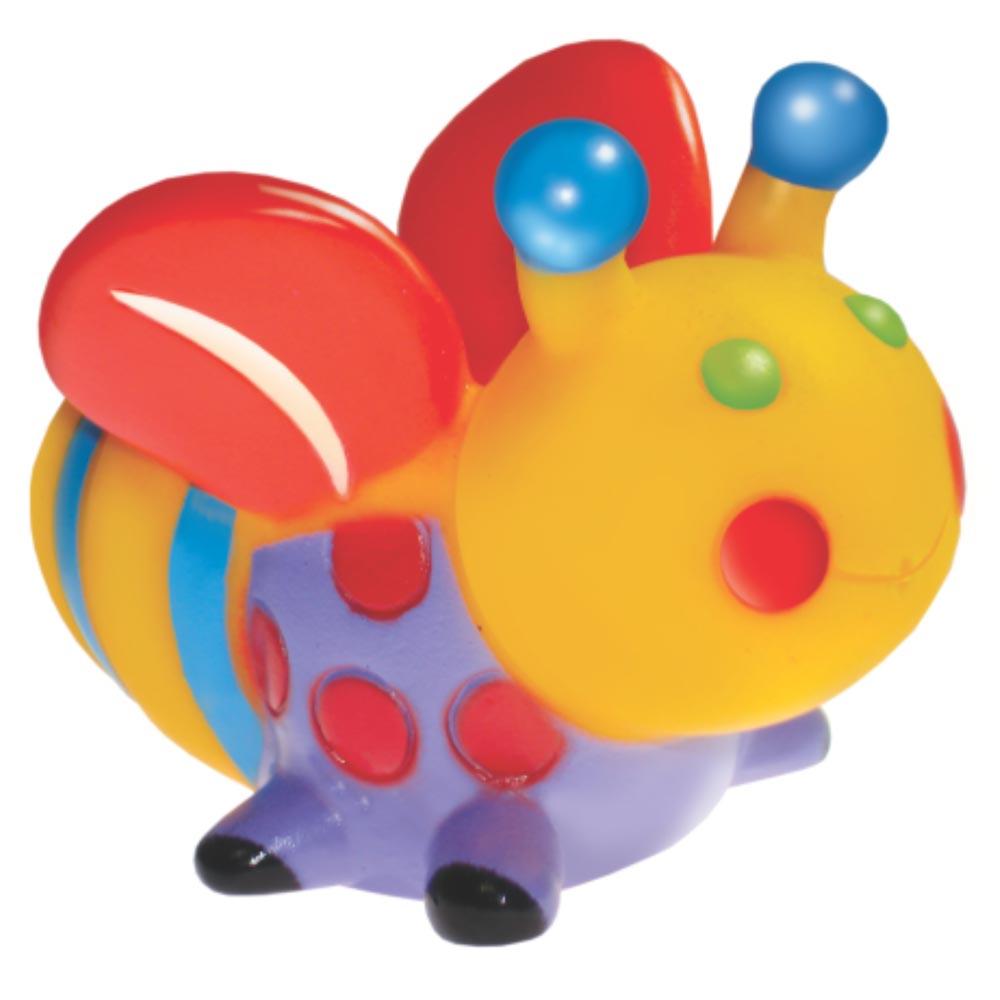 Brinquedo Mordedor Lider Abelha - Amarelo