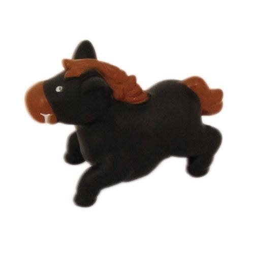 Brinquedo Mordedor Lider Cavalo - Preto