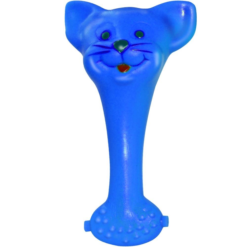 Brinquedo Mordedor Lider Mordedores Gato - Azul