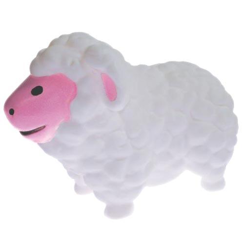 Brinquedo Mordedor Lider Ovelha - Branco