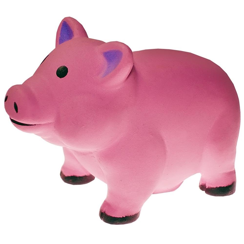 Brinquedo Mordedor Lider Porco - Rosa