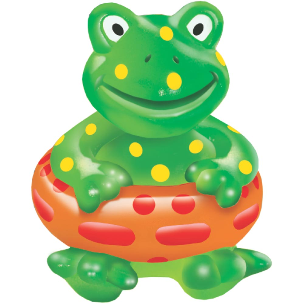 Brinquedo Mordedor Lider Sapo Boia - Verde