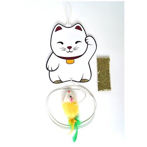 Brinquedo Pet Games Lucky Cat