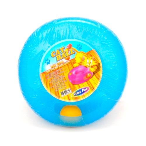 Brinquedo Plastpet Cat Ball - Azul