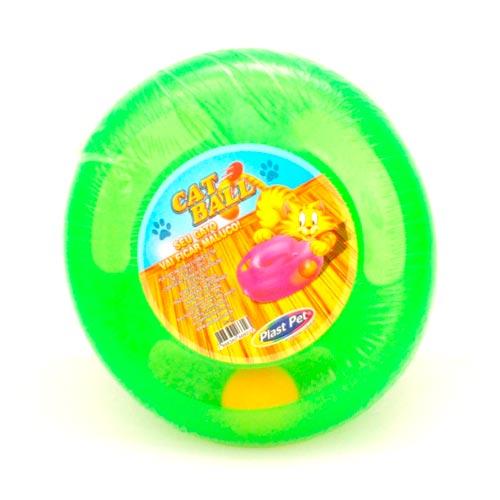 Brinquedo Plastpet Cat Ball - Verde