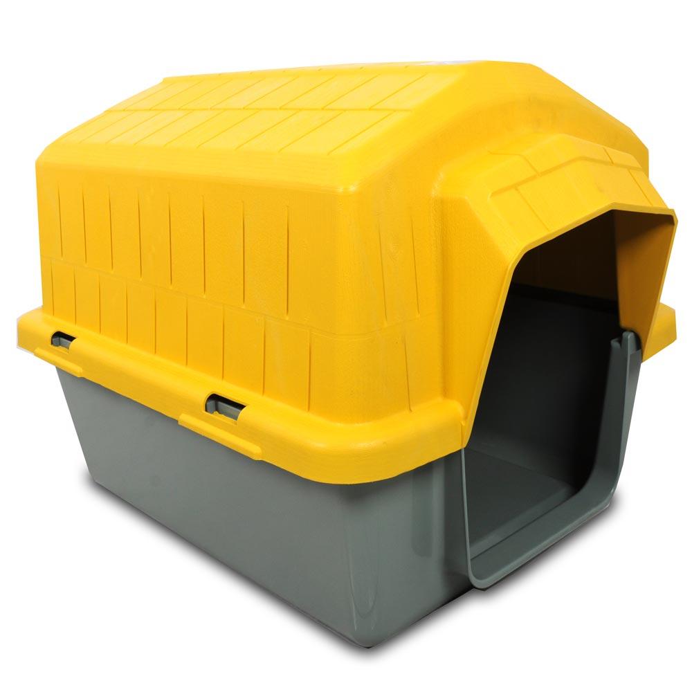 Casa Alvorada Pet Plástica - Amarela