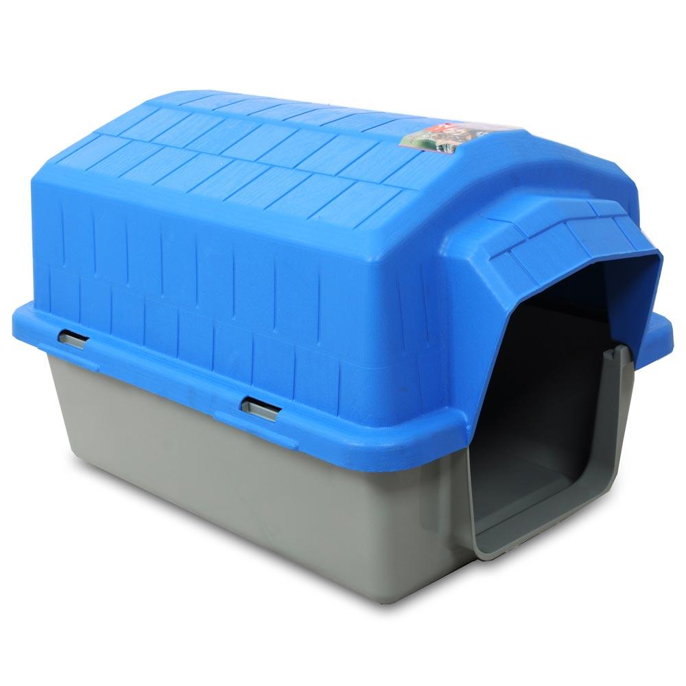 Casa Alvorada Pet Plástica - Azul