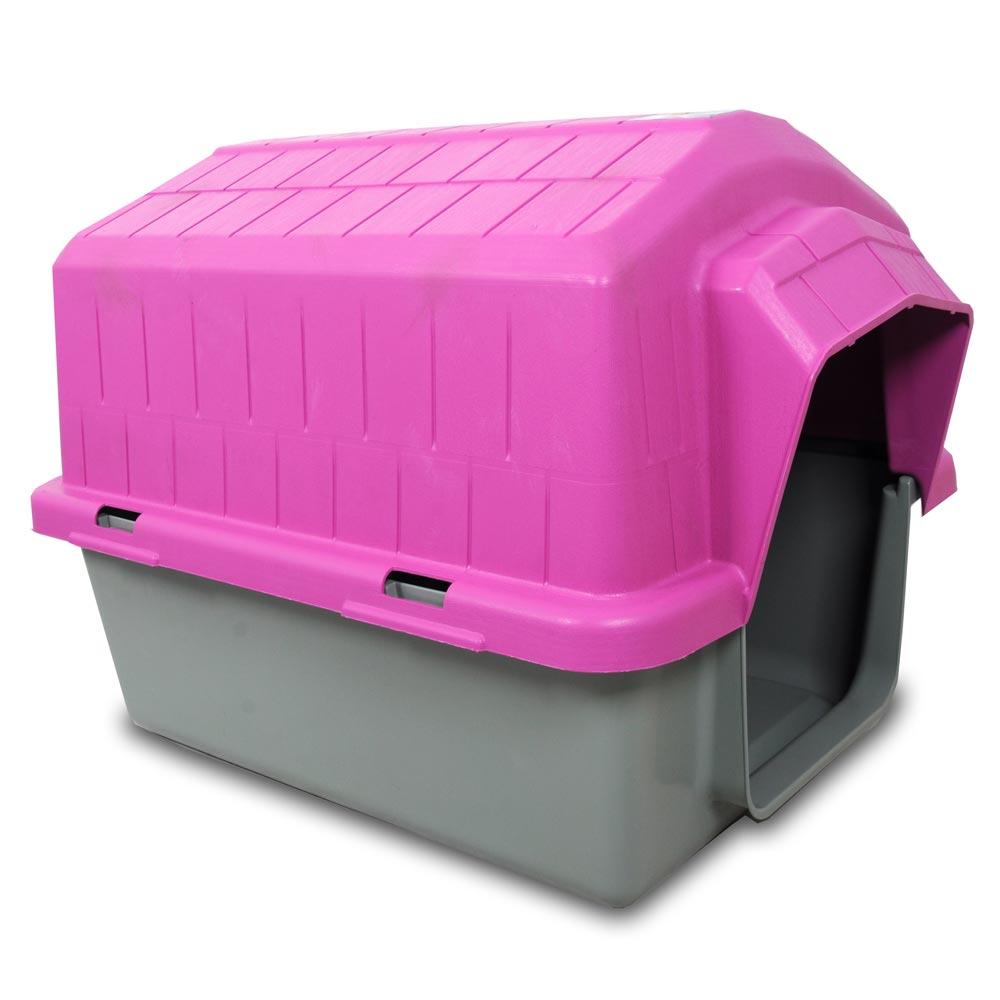 Casa Alvorada Pet Plástica - Rosa