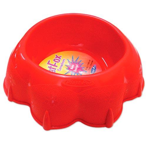 Comedouro Plastpet Pet Fox - Vermelho