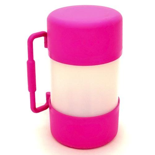 Container Alvorada Pet para Alimentação de Viagem My Bag - Rosa