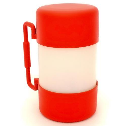 Container Alvorada Pet para Alimentação de Viagem My Bag - Vermelho
