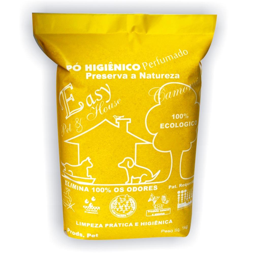 Eliminador de Odores Easy Pet & House em Pó Higiênico - Camomila