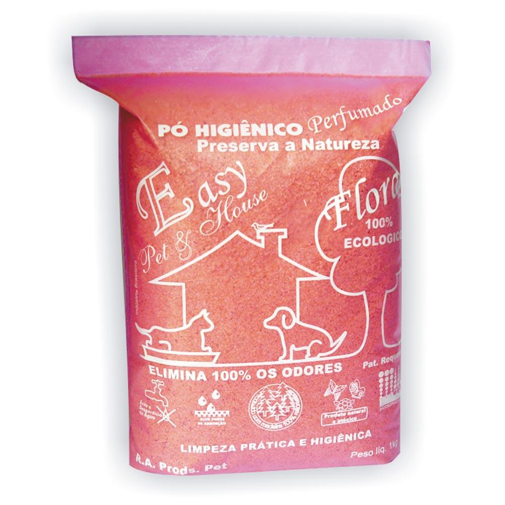 Eliminador de Odores Easy Pet & House em Pó Higiênico - Floral