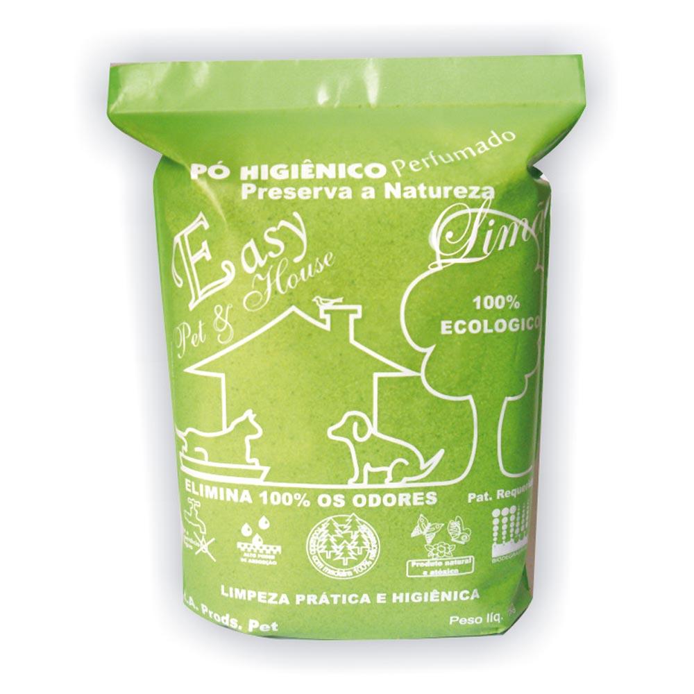 Eliminador de Odores Easy Pet & House em Pó Higiênico - Limão
