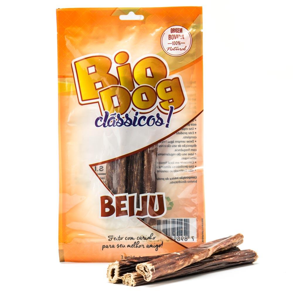 Petiscos BioDog Clássicos Beiju - 3 Unidades