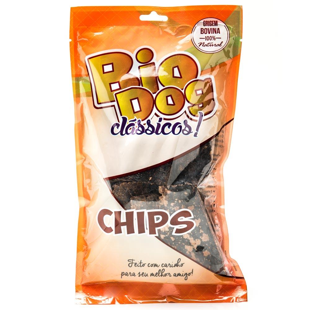 Petiscos BioDog Clássicos Chips - 10 Unidades