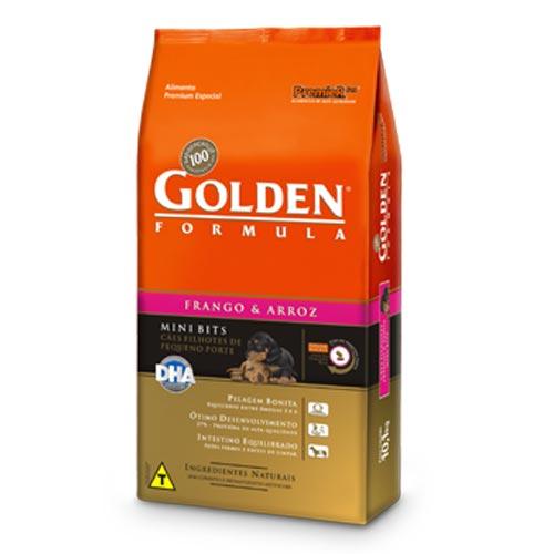Ração Premier Pet Golden Formula de Frango e Arroz para Cães Filhotes de Raças Pequenas
