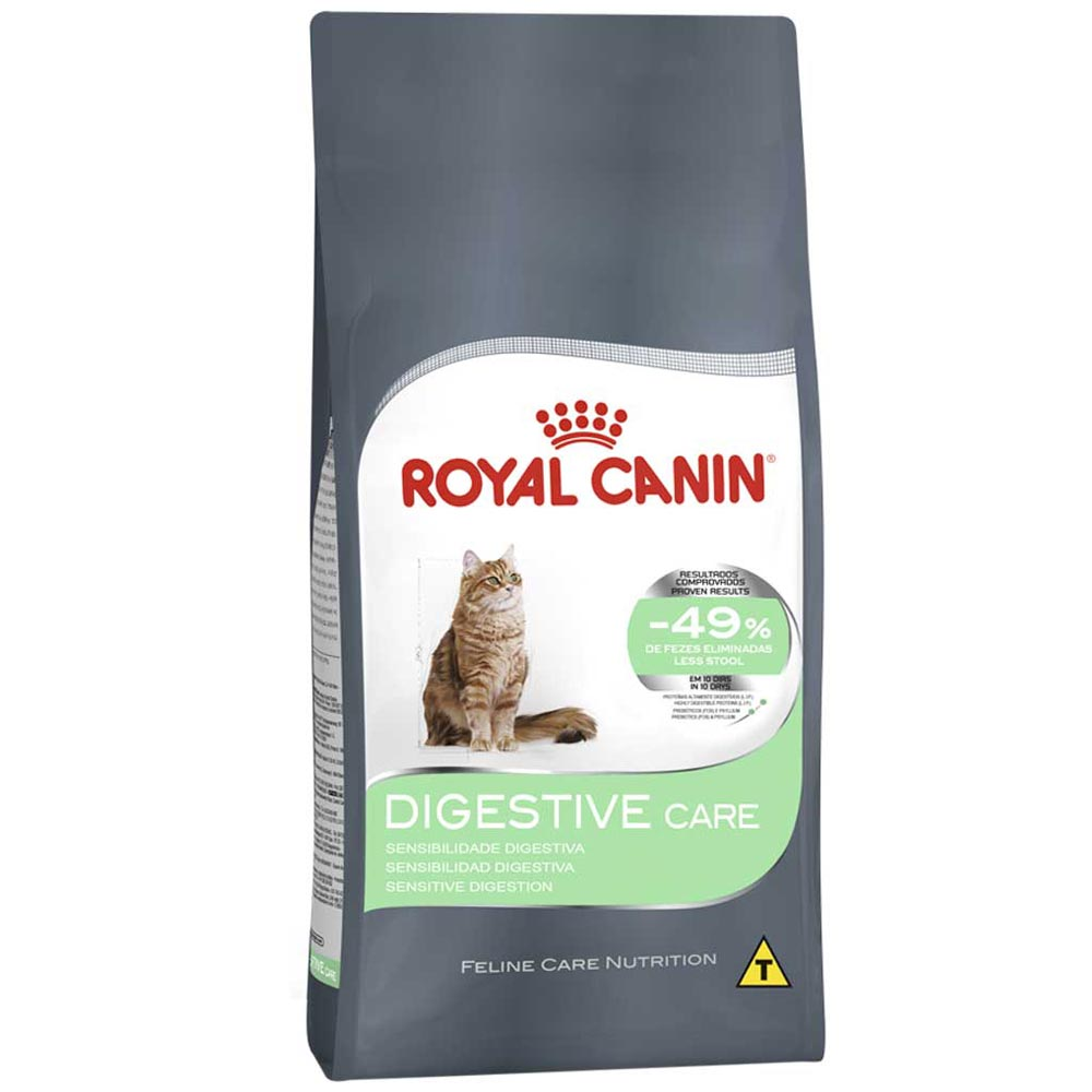 Ração Royal Canin FCN Digestive Care para Gatos Adultos de Sensibilidade Digestiva