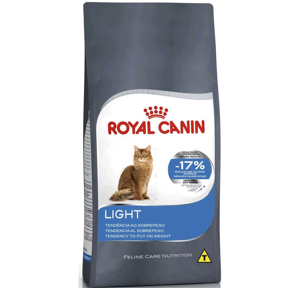 Ração Royal Canin FCN Light para Gatos Adultos com Tendência a Sobrepeso