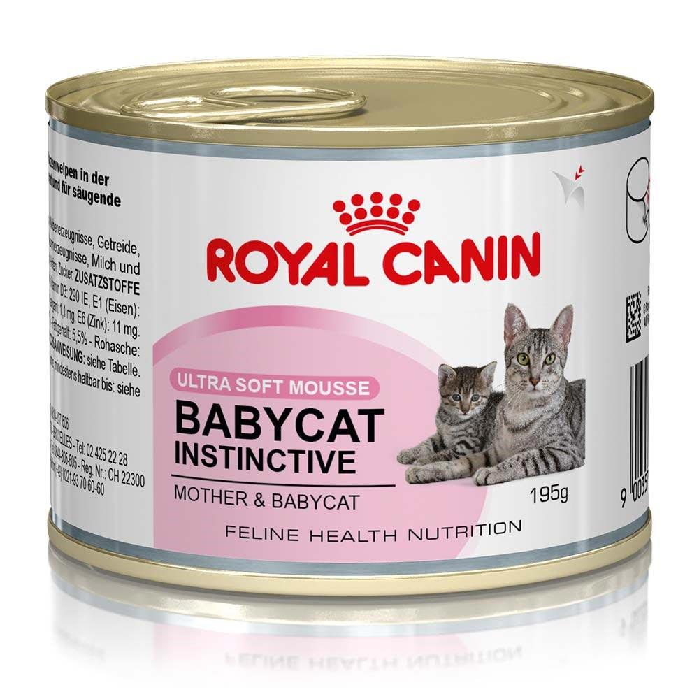 Ração Royal Canin FHN Baby Cat Instinct em Lata para Gatos Filhotes - 195 g