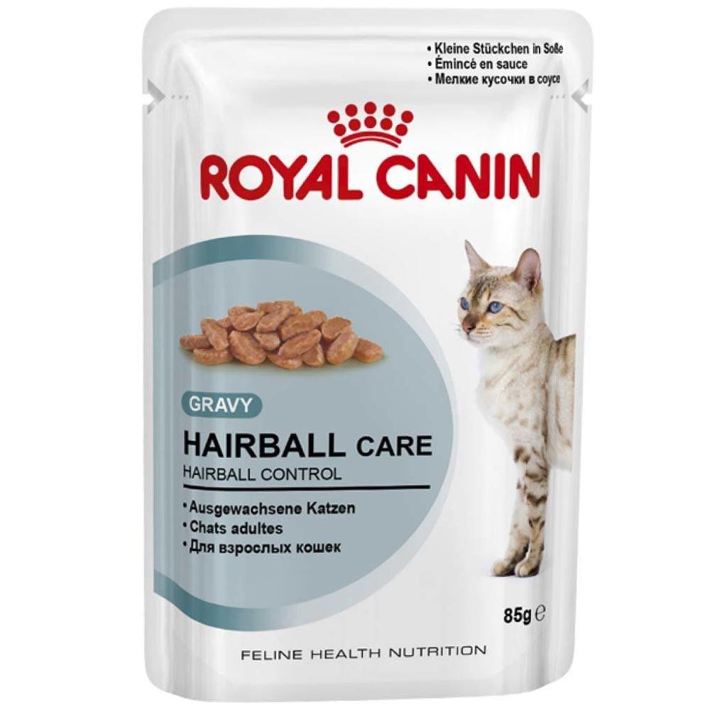 Ração Royal Canin FHN Hairball em Sachê para Gatos Adultos com Formação de Bolas de Pelos - 85 g