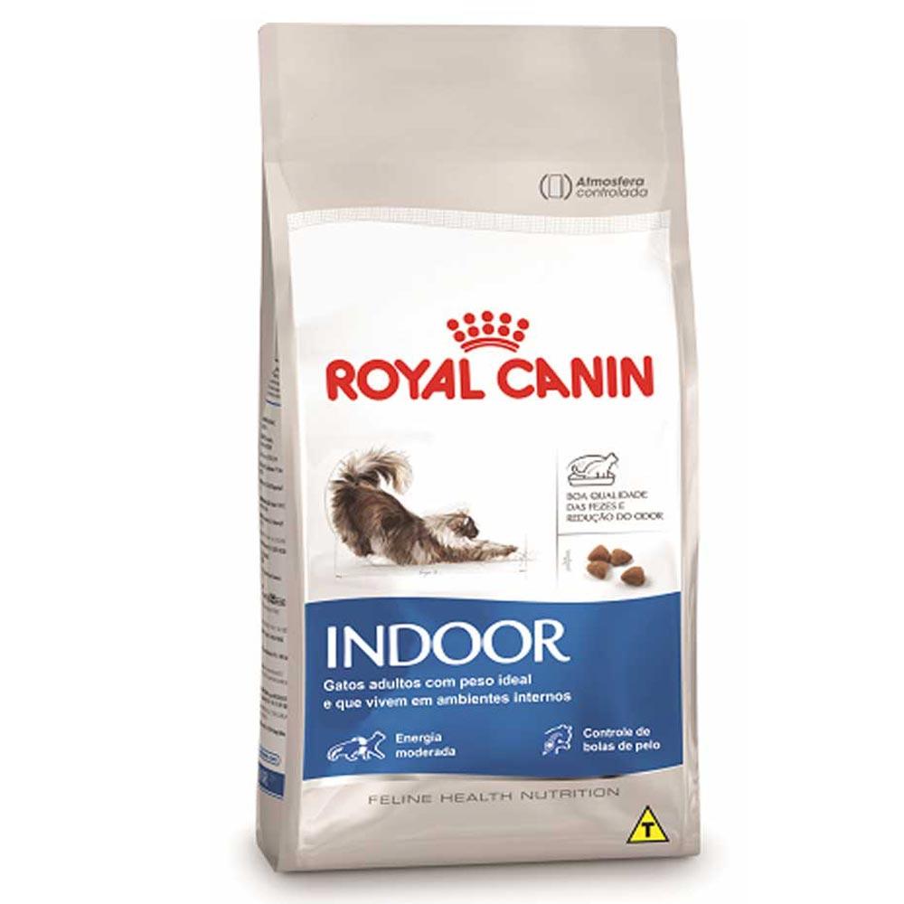 Ração Royal Canin FHN Indoor para Gatos Adultos de Ambientes Internos