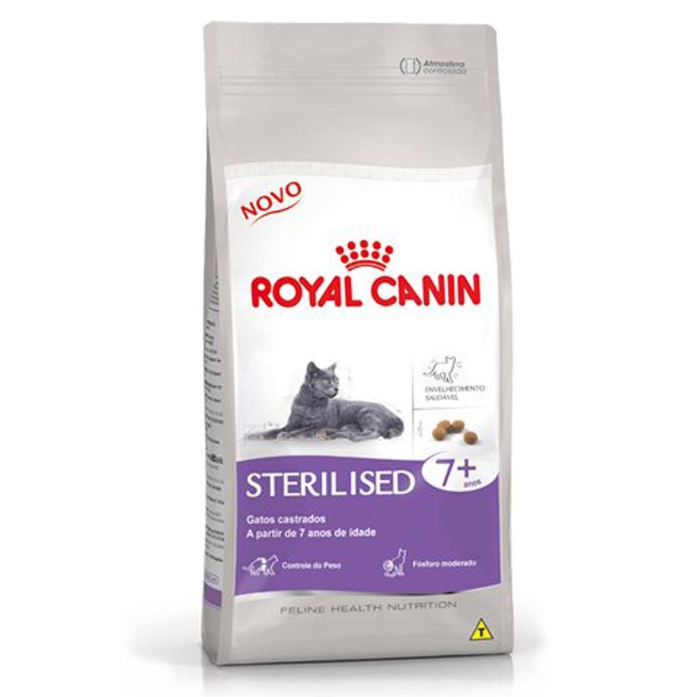 Ração Royal Canin FHN Sterilised 7+ para Gatos Adultos Castrados a partir dos 7 Anos de Idade