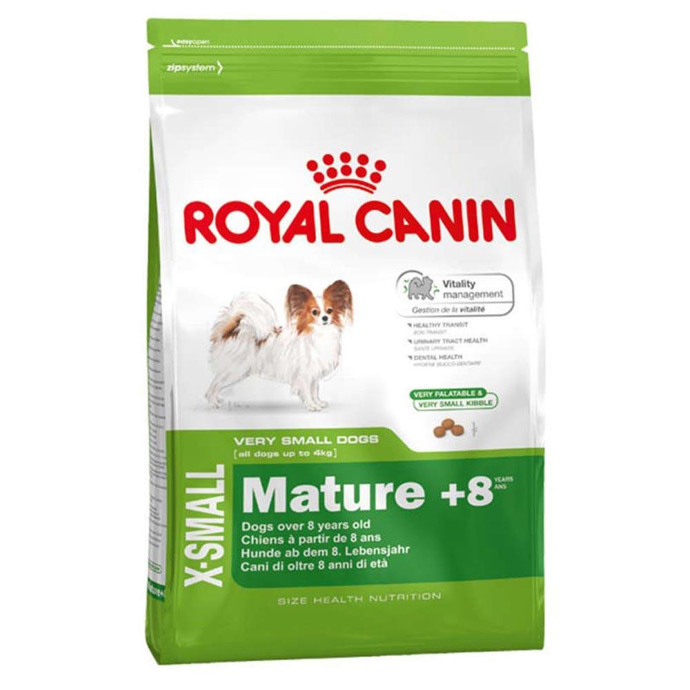 Ração Royal Canin SHN X-Small Adult 8+ para Cães Adultos de Raças Mini a partir de 8 Anos