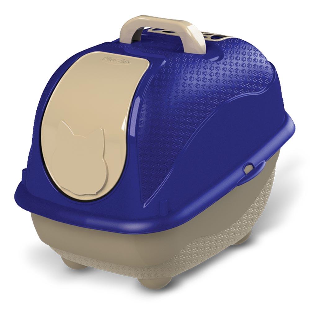 Sanitário Plastpet Wc Cat Box Pop para Gatos - Azul