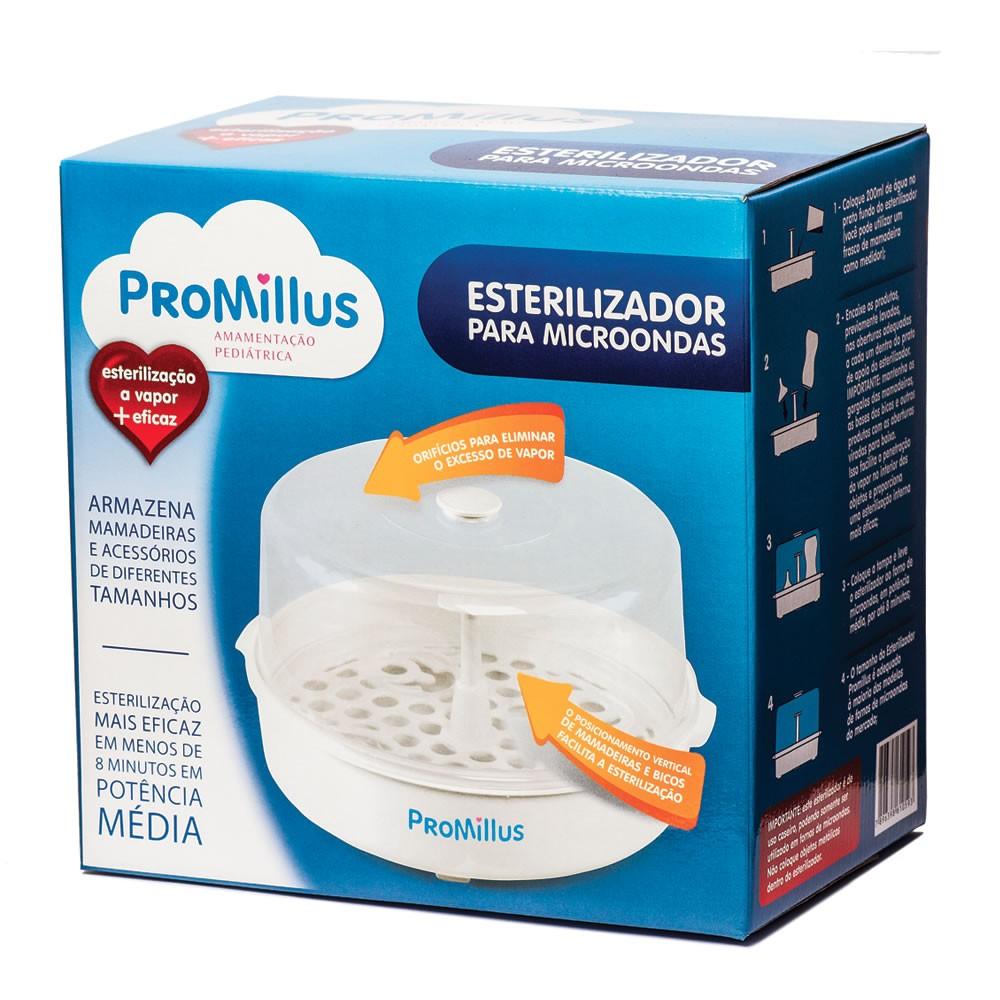 Esterilizador de Microondas para Mamadeiras