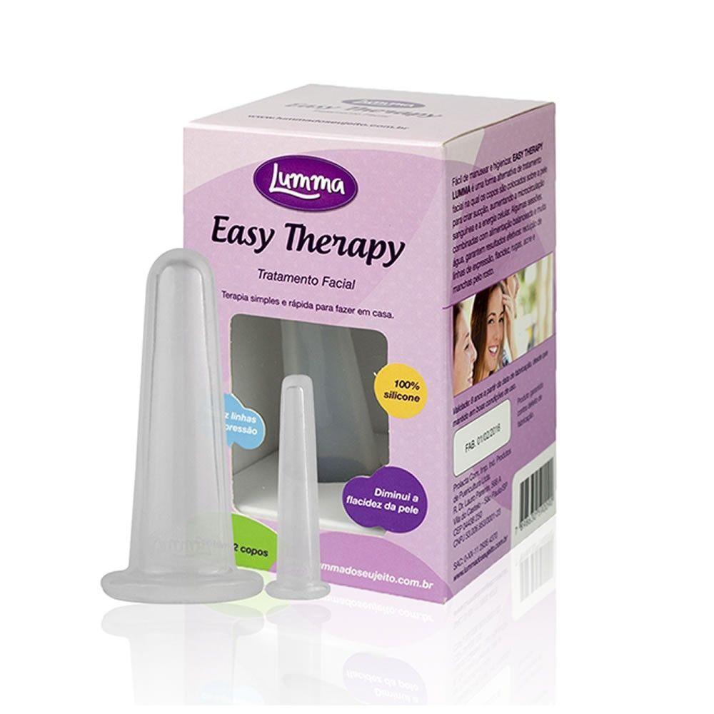 Kit Ventosas para massagem Facial