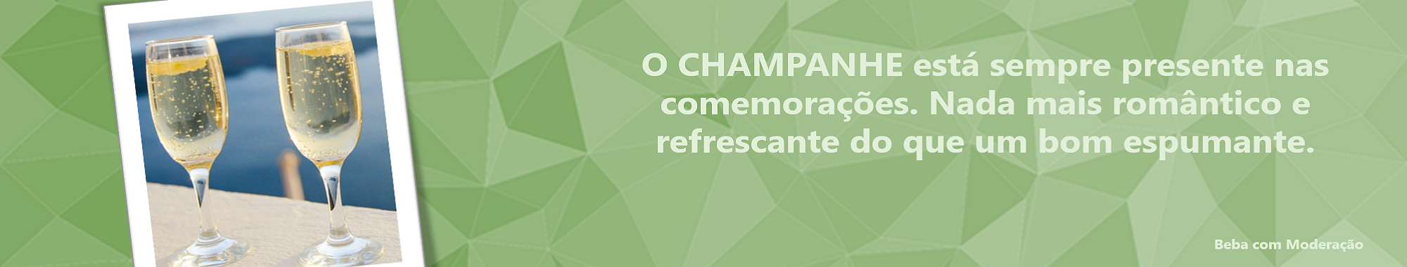 Banner Champanhe