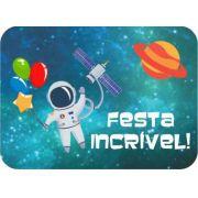 Adesivo para Lembrancinha 5,5x4,0 Festa Astronauta 20unid Duster