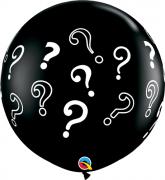 Balão de Látex Chá Revelação 3 pés - 01unid Qualatex