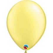 Balão de Látex Lima Chiffon Perolado Qualatex 25 unidades