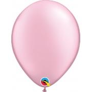 Balão de Látex Rosa Perolado Qualatex 25 unidades