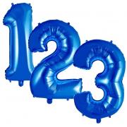 Balão Metalizado Azul 16