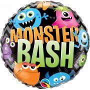 Balão Metalizado Monster Bash Halloween 18pol Qualatex