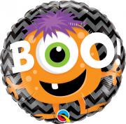 Balão Metalizado Monster Boo Halloween 18pol Qualatex