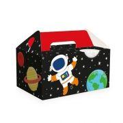 Caixa para Kit Lanche Festa Astronauta 10unid Cromus