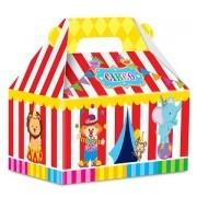 Caixa Surpresa Maleta Festa Circo Mágico 08unid Junco