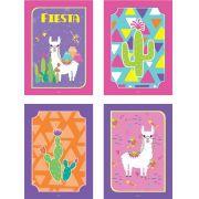 Cartaz Decorativo Festa Lhama 04unid Duster