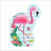 Convite Festa Flamingo 08unid Duster