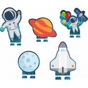 Display Decorativo Festa Astronauta 05unid Duster