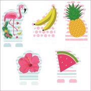 Display Decorativo Festa Flamingo