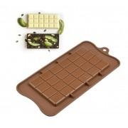 Forma de Silicone para Chocolate Barra